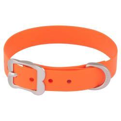 Red Dingo Vivid Orange Large Dog Collar / 40-50 cm