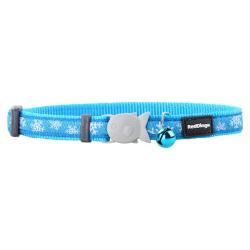 Red Dingo Collar para gatos Snowflake Turquoise