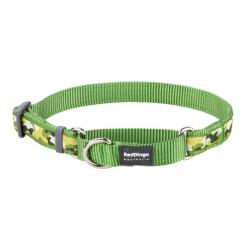 Red Dingo Camouflage Green Large Martingale Collar
