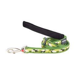 Red Dingo Camouflage Green dog lead 100-180 cm Medium