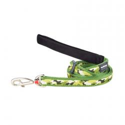 Red Dingo Camouflage Green dog lead 100-180 cm Large