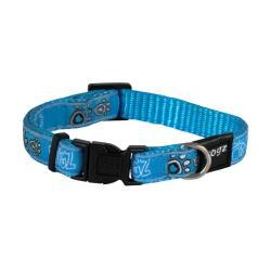 Rogz Fancy Dress Jellybean Hundehalsband - Small / Turquoise Paw