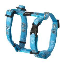 Rogz Fancy Dress Jellybean Dog Harness Small / Turquoise Paw