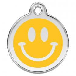 Red Dingo Médaille Smiley Face Yellow Small