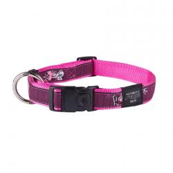 Rogz Fancy Dress Armed Response Hundehalsband - XLarge / Pink Love