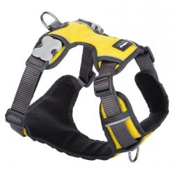 Red Dingo Padded dog harness XS Yellow