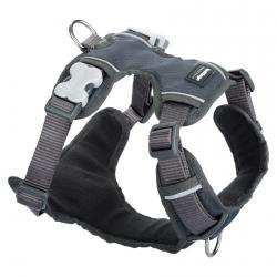 Red Dingo Padded dog harness XLarge Grey