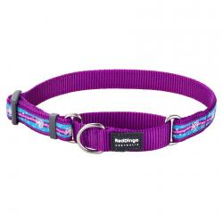 Red Dingo Unicorn Purple Medium Martingale Collar