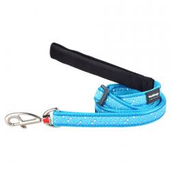 Red Dingo Flying Bones Turquoise dog lead 100-180 cm XS