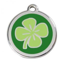 Red Dingo Médaille Green Clover Small