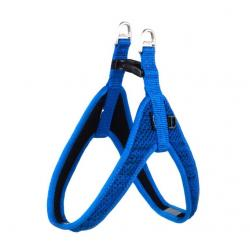 Rogz Utility Snake Blue Fast-Fit Dog Harness 41 cm