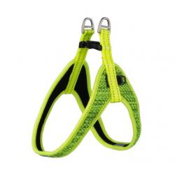 Rogz Utility Snake Dayglo Yellow Fast-Fit Dog Harness 47 cm