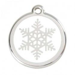 Red Dingo Médaille Snowflake Small