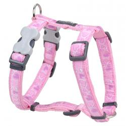 Red Dingo Breezy Love Pink Medium Dog Harness