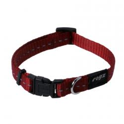 Rogz Utility Nitelife Red Dog collar - Small