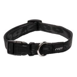 Rogz Alpinist Matterhorn Black Dog collar - Medium