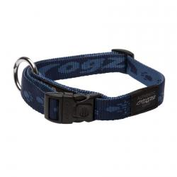 Rogz Alpinist K2 Blue Dog collar - Large