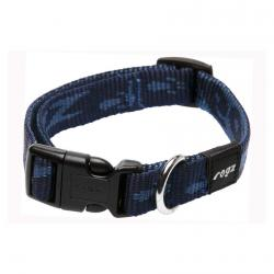 Rogz Alpinist Matterhorn Blue Dog collar - Medium