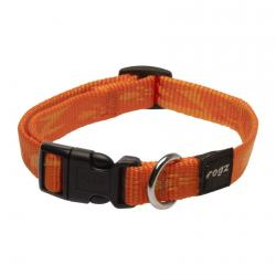 Rogz Alpinist Matterhorn Orange Dog collar - Medium