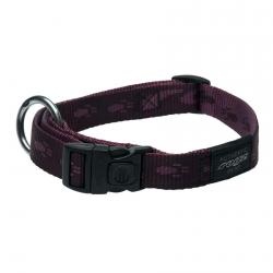 Rogz Alpinist K2 Purple Dog collar - Large