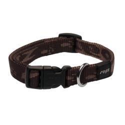 Rogz Alpinist Matterhorn Brown Dog collar - Medium