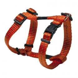 Rogz Utility Nitelife Orange Small Dog Harness
