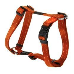 Rogz Utility Fanbelt Orange Large Dog Harness