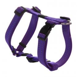 Rogz Utility Snake Purple Medium Dog Harness