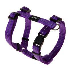 Rogz Utility Nitelife Purple Small Dog Harness