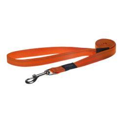 Rogz Utility Fanbelt Orange dog lead 140cm Large