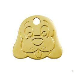 Red Dingo Médaille Happy Dog Face Medium FB