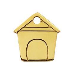 Red Dingo Dog ID Tag Dog House Medium FB