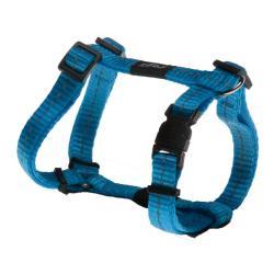 Rogz Utility Nitelife Turquoise Small Dog Harness