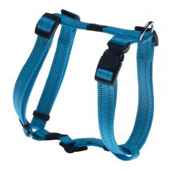 Rogz Utility Snake Turquoise Medium Hundegeschirr