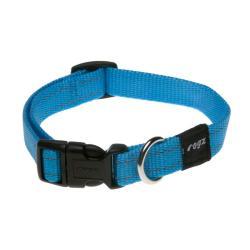 Rogz Utility Snake Turquoise Dog collar - Medium
