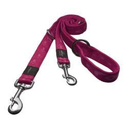 Rogz Alpinist Matterhorn Pink multi-purpose lead 160cm Medium