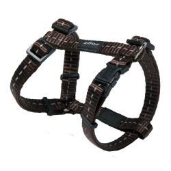 Rogz Utility Nitelife Brown Small Dog Harness