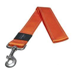 Rogz Utility Landing Strip Orange dog lead 50cm XXL