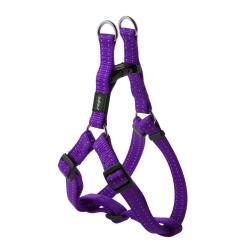 Rogz Utility Snake Purple Medium Step-In Dog Harness