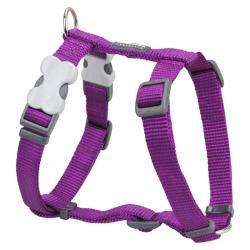 Red Dingo Purple Medium Dog Harness