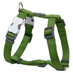 Red Dingo Green Medium Dog Harness