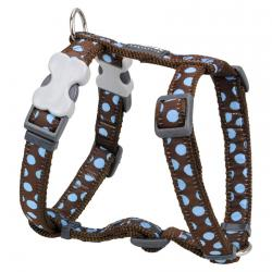 Red Dingo Blue Spots Brown XS Pettorina per cani
