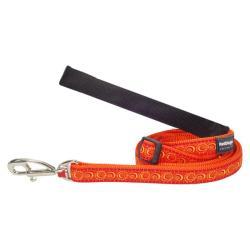 Red Dingo Cosmos Orange Laisse 100-180 cm XS
