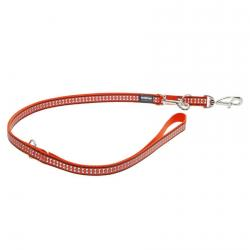 Red Dingo Reflective Orange multi-purpose dog lead 200 cm Medium