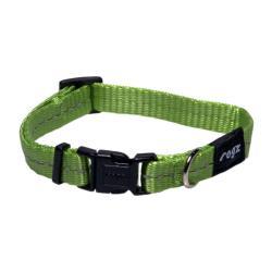 Rogz Utility Nitelife Lime Dog collar - Small