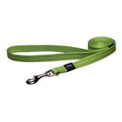 Rogz Utility Snake Lime dog lead 140cm Medium