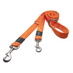 Rogz Alpinist Everest Orange multi-purpose dog leash 5,3 ft XLarge