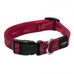 Rogz Alpinist Matterhorn Red Hundehalsband - Medium
