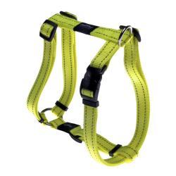 Rogz Utility Fanbelt Dayglo Yellow Large Dog Harness