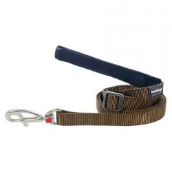 Red Dingo Brown dog lead 100-180 cm Large